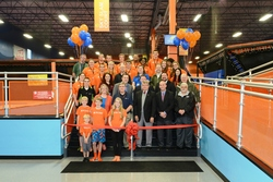Sky Zone Boston Heights Grand Opening