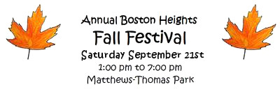 Boston Heights Fall Festival
